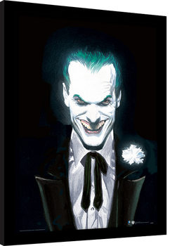 DC Comics - Joker Suited Poster Emoldurado