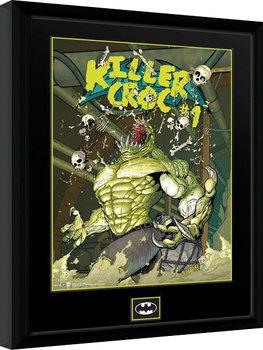 DC Comics - Killer Croc Sewers Poster Emoldurado