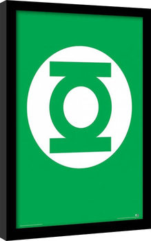DC Comics - The Green Lantern Poster Emoldurado
