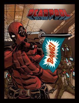 Deadpool - Bang Poster Emoldurado