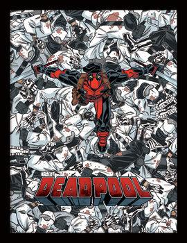 Deadpool - Bodies Poster Emoldurado