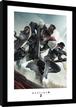Destiny 2 - Key Art Poster Emoldurado