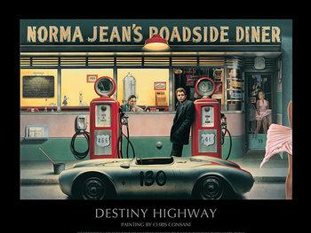 Reprodução do quadro  Destiny Highway - Chris Consani