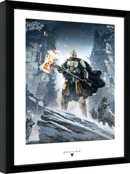 Destiny - Rise of Iron Poster Emoldurado