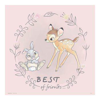 Reprodução do quadro Disney - Bambi