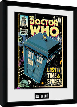Doctor Who - Tarids Comic Poster Emoldurado