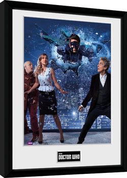 Doctor Who - Xmas Iconic 2016 Poster Emoldurado