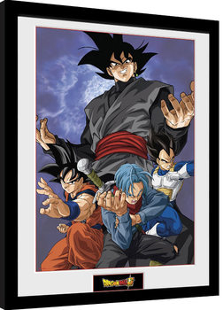 Dragon Ball Super - Future Group Poster Emoldurado