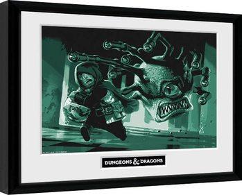 Dungeons & Dragons - Beholder Poster Emoldurado