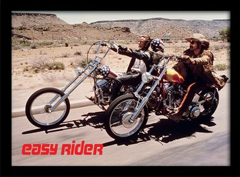 Easy Rider - Bikes Poster Emoldurado