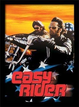 EASY RIDER - cruising Poster Emoldurado