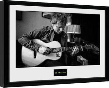Ed Sheeran - Chord Poster Emoldurado