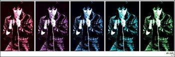 Reprodução do quadro Elvis Presley - 68 Comeback Special Pop Art