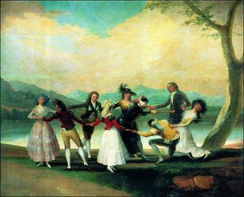 Reprodução do quadro F.De.Goya - Coline Maillard