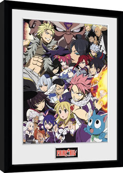 Fairy Tail - Season 6 Key Art Poster Emoldurado
