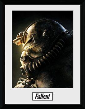 Fallout 76 - T51b Poster Emoldurado