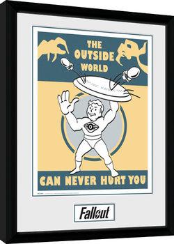 Fallout - Outside Poster Emoldurado