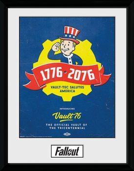 Fallout - Tricentennial Poster Emoldurado