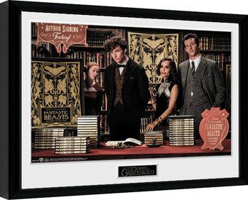 Fantastic Beasts 2 - Book Signing Poster Emoldurado