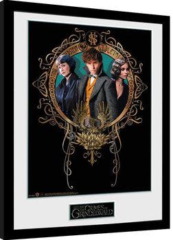 Fantastic Beasts 2 - Trio Poster Emoldurado