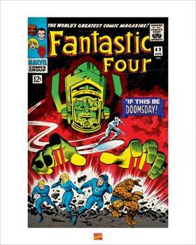 Reprodução do quadro  Fantastic Four