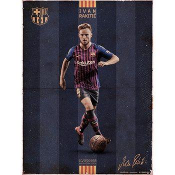 Reprodução do quadro FC Barcelona - Rakitic Vintage