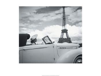 Reprodução do quadro  Femme au Volant Paris