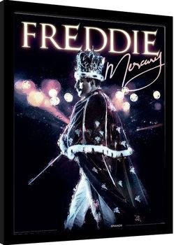 Freddie Mercury - Royal Portrait Poster Emoldurado