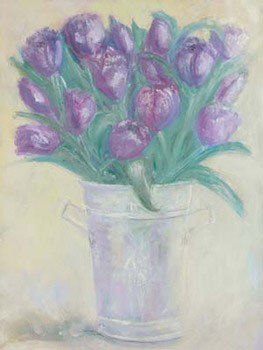 Reprodução do quadro French Flower Buckets ll