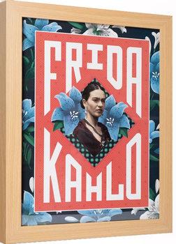 Frida Kahlo Poster Emoldurado