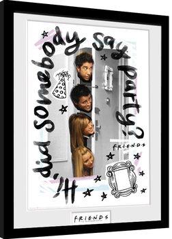 Friends - Party Poster Emoldurado
