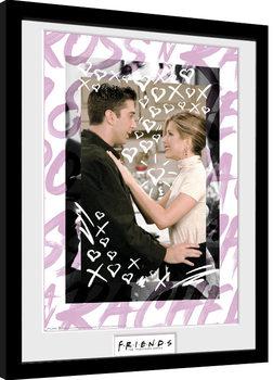 Friends - Ross and Rachel Poster Emoldurado