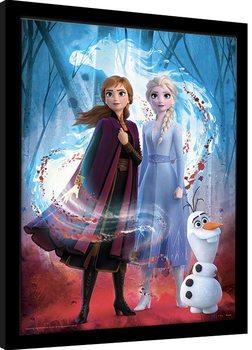 Frozen 2 - Guiding Spirit Poster Emoldurado
