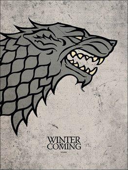 Reprodução do quadro Game of Thrones - Stark