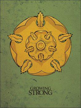 Reprodução do quadro Game of Thrones - Tyrell