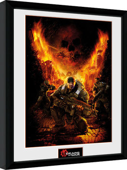 Gears of War - Gears 1 Poster Emoldurado