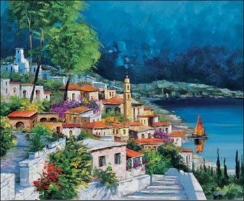 Reprodução do quadro Gianola - cala azzurra