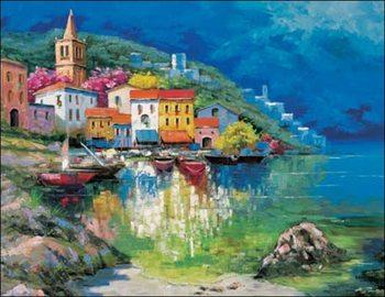 Reprodução do quadro  Gianola - Marina Piccola