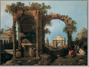 Reprodução do quadro  Gianola - Paesaggio II