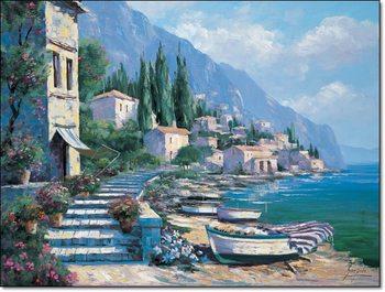 Reprodução do quadro  Gianola - Paesaggio IX