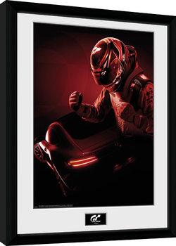 Gran Turismo - Key Art Poster Emoldurado