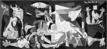 Reprodução do quadro  Guernica, 1937