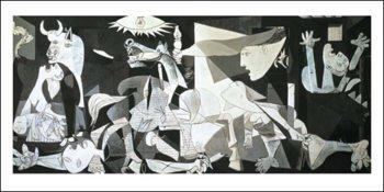 Reprodução do quadro  Guernica