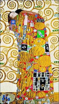 Reprodução do quadro  Gustav Klimt - Abbraccio