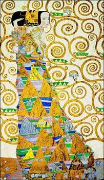 Reprodução do quadro  Gustav Klimt - L Attesa