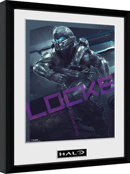 Halo 5 - Locke Poster Emoldurado