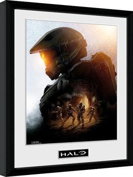 Halo - Master Chief Poster Emoldurado