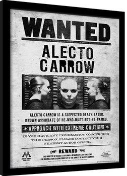 Harry Potter - Alecto Wanted Poster Emoldurado