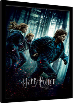 Harry Potter - Deathly Hallows Part 1 Poster Emoldurado