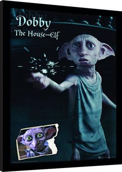 Harry Potter - Dobby Poster Emoldurado